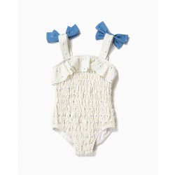 BABY GIRL SWIMSUIT, DOTS