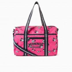 'PINK HAT MINNIE' GIRLS SPORT BAG, PINK/DARK BLUE