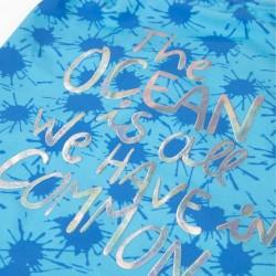 'OCEAN' GIRL SWIMSUIT, BLUE