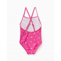 PRINTED SWIMSUIT FOR BABY GIRL, PINK