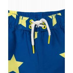 'STARS' BOY'S UV 80 PROTECTION SWIM SHORTS, BLUE
