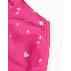 PRINTED SWIMSUIT FOR GIRLS, PINK
