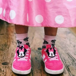 'MINNIE ZY RETRO' TRAINERS FOR GIRLS, PINK