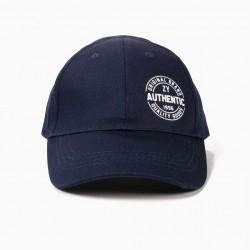 BOYS 'ZY 1996' CAP, DARK BLUE