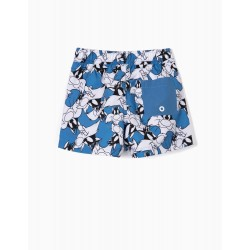 'SYLVESTER' ANTI-UV 80 BABY BOY BEACH SHORTS, BLUE