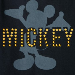 BABY MICKEY 'LONG SLEEVE T-SHIRT, DARK BLUE