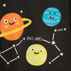 SPACE GAMES BABY BOY TRACKSUIT, DARK GRAY