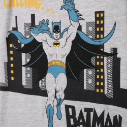 'BATMAN' BOY'S PAJAMAS, GRAY