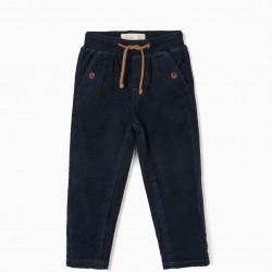 BABY BOY PANTS, DARK BLUE
