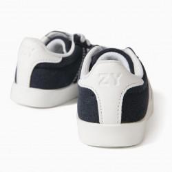 BABY SHOES 'ZY RETRO', DARK BLUE