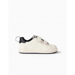 BABY SHOES 'ZY 1996', WHITE / DARK BLUE