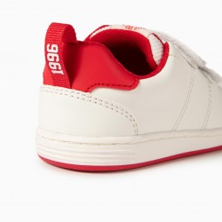 BABY SHOES 'ZY 1996', WHITE / RED