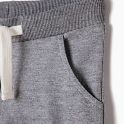 BASIC GRAY TRAINING PANTS