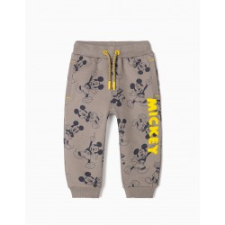 TRACKSUIT PANTS FOR BABY BOY 'MICKEY', GRAY