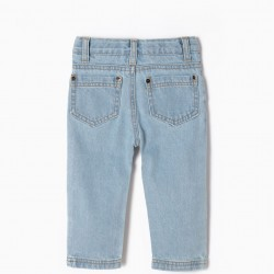 REGULAR FIT CLEAR JEANS