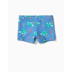 TURTLES ANTI-UV 80 BABY BOY SHORTS, BLUE