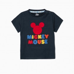 BABY BOY T-SHIRT 'MICKEY MOUSE', BLUE