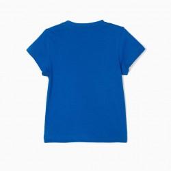 BABY BOY T-SHIRT 'ZY 96', BLUE