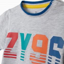 BABY BOY T-SHIRT 'ZY 96', GRAY