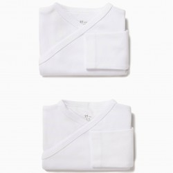 PACK 2 BODIES LONG SLEEVE WHITE