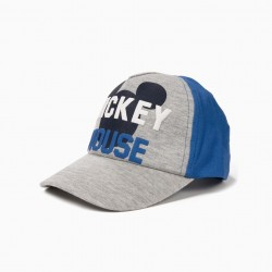 MICKEY MOUSE' BOY CAP, GRAY AND BLUE