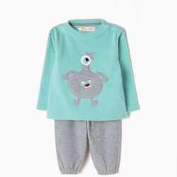 LITTLE MONSTER POLAR PAJAMAS