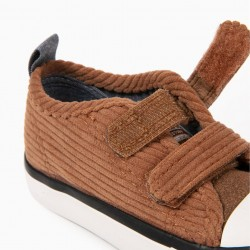 BABY BOY ZY 50'S CORDUROY CAMEL SHOES