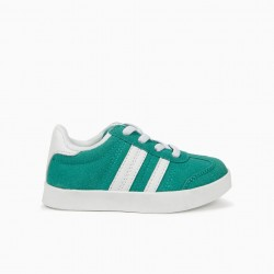 BABY SHOES 'ZY RETRO', GREEN