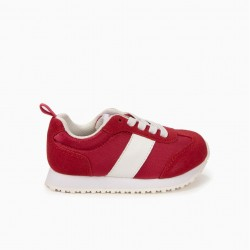 BABY SHOES 'ZY ORIGINAL', RED