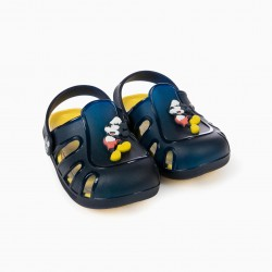 SANDALS 'MICKEY', BLUE
