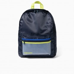 BOY'S BACKPACK 'CONQUEST OF SPACE', DARK BLUE
