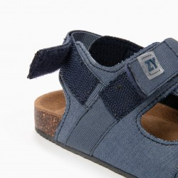 BOY SANDALS WITH VELCRO, BLUE
