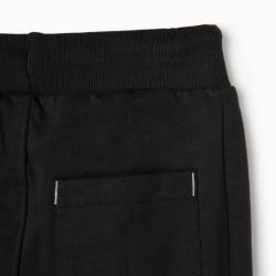'MICKEY' TRAINING PANTS FOR BOYS, DARK GRAY