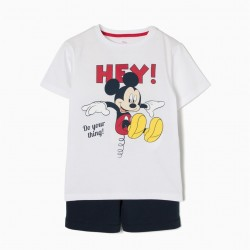 MICKEY MOUSE T-SHIRT AND SHORTS SET