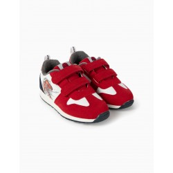 BOYS 'SPIDER-MAN' TRAINERS, RED