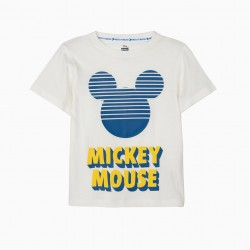 'MICKEY MOUSE' BOY T-SHIRT, WHITE
