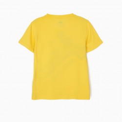 'MICKEY MOUSE' BOY T-SHIRT, YELLOW
