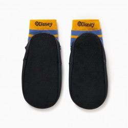 'MICKEY' BOY'S SLIPPER SOCKS, BLUE