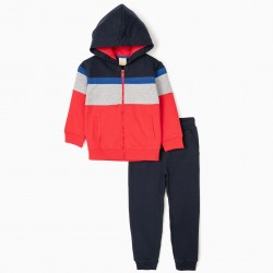 TRACKSUIT FOR BOYS, MULTICOLOR