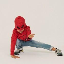 'SPIDER-MAN' BOY'S HOODED SWEATSHIRT, RED