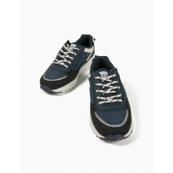 BOYS 'ZY EASY' TRAINERS, DARK BLUE