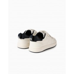 KIDS SHOES 'ZY 1996', WHITE / DARK BLUE