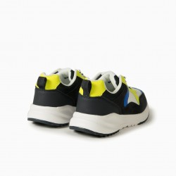 BOYS 'ZY SUPERLIGHT RUNNER' COMBO SHOES, MULTICOLOR