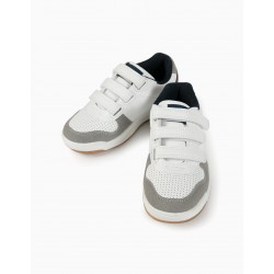 SNEAKERS FOR BOYS, WHITE