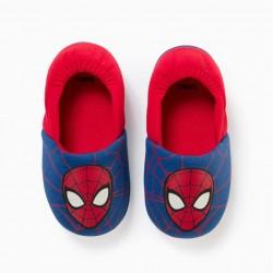 'SPIDER-MAN' BOY SLIPPERS, BLUE/RED