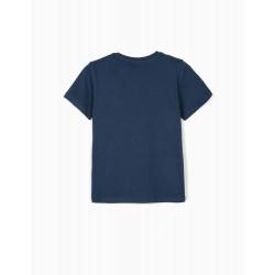 T-SHIRT FOR BOYS 'EGYPT', BLUE
