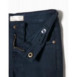 BLUE TWILL PANTS