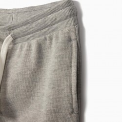 BOY'S TRAINING PANTS, GRAY