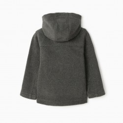 CANADIAN B&S JACKET FOR BOYS, GRAY