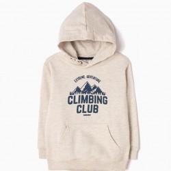 CLIMBING CLUB HOODED SWEATSHIRT